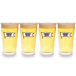 Personalized Fan Cave Pint Glasses