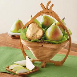 Pear Trivet Gift Basket