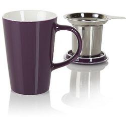 Purple Angle Tea Infuser Mug
