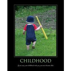 Childhood Personalized Art Print
