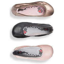 Folding Ballet Flats with Travel Pouch