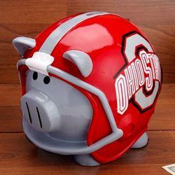 Ohio State Buckeyes Helmet Piggy Bank Scarlet