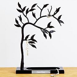 Personalized Sculpted Jewelry Tree