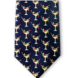 Martini Girls Silk Tie