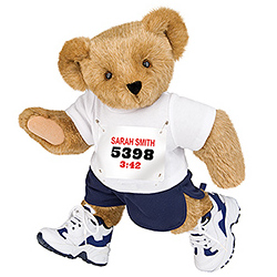 "15"" Marathon Runner Bear"