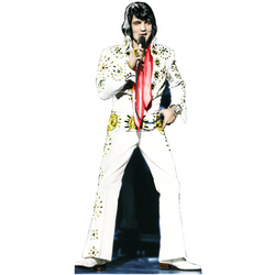 Elvis Presley 25th Anniversary Cutout