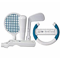 DreamGear 4-in-1 Player s Sports Kit for Wii