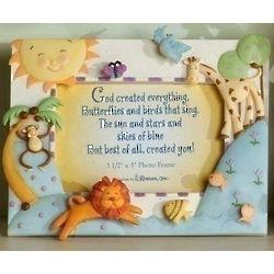 God Created Everything Frame