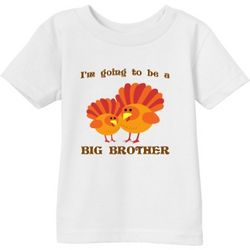 I'm Going To Be a Big Brother Turkey Infant T-Shirt