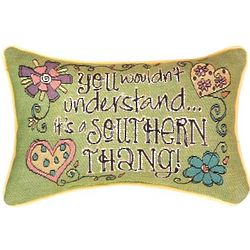 It's a Southern Thang Word Pillow