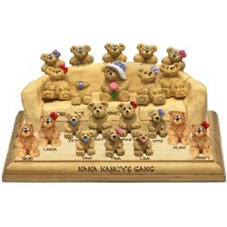 Customized Big Sofa Personalized with 15 to 20 Bears