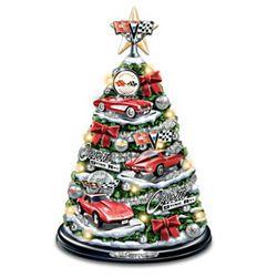 Corvette Tabletop Christmas Tree