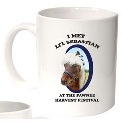 Parks and Recreation Li'l Sebastian Mug