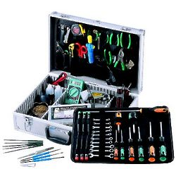 Electronics Repair Tool Kit in Aluminum Case