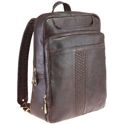 Glazed Calf Leather Backpack