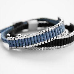 Men's Woven Bracelet