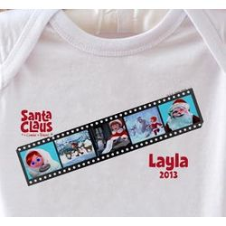 Santa Claus Is Comin' To Town Personalized Bodysuit