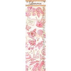 Announcing Girl Personalized Growth Chart