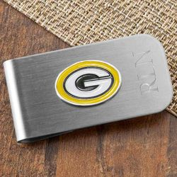 Personalized Green Bay Packers Money Clip and Bottle Opener