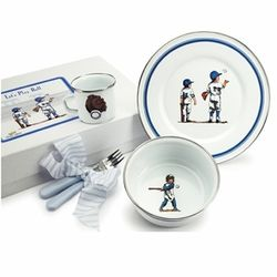 Baseball Boys Dish Set
