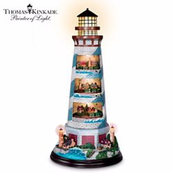Thomas Kinkade's Masterpiece Tower of Light Lighthouse Sculpture