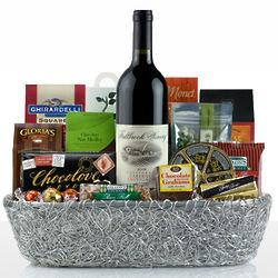 Deluxe Wine Basket