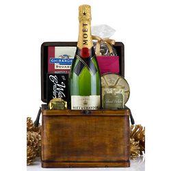 Champagne Treasure Gift Basket