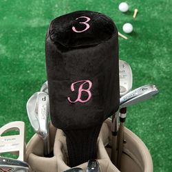 Personalized Women's Initial Golf Club Cover