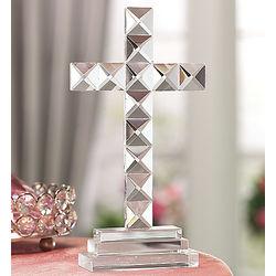Standing Crystal Cross