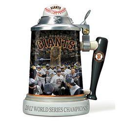MLB San Francisco Giants 2012 World Series Stein