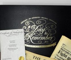 Personalized Anniversary Newspaper