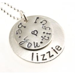You Are Be-You-Tiful Personalized Stamped Necklace