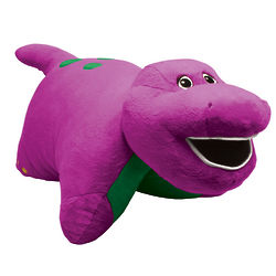 Barney Pillow Pet