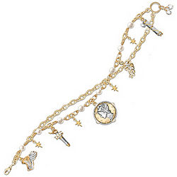 Mercury Dime Charm Bracelet