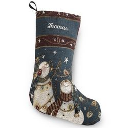 Snow Much Fun Christmas Stocking