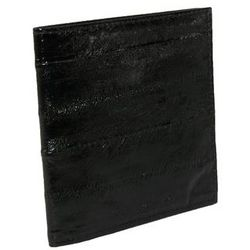 Eel Skin RFID Protected Ultra Thin Billfold Wallet