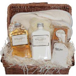 Honey Vanilla Spa-In-A-Basket Gift Set