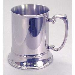 Engraved 16oz Double Wall Stainless Steel Tankard