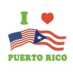 I Love Puerto Rico T-Shirt