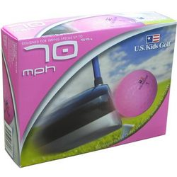 Kids 70 SS Pink Photo Golf Balls