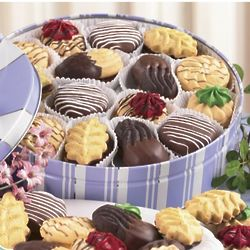 Assorted Sugar Free Cookies Gift Tin