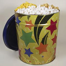 Shooting Stars Popcorn Tin