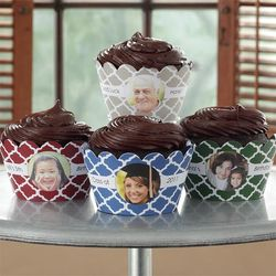 You Picture It Personalized Photo Cupcake Wrappers