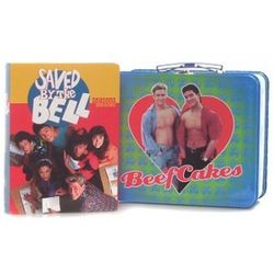 Saved by The Bell DVD with Lunchbox