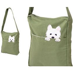 Westie Messenger Bag