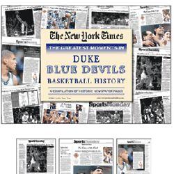 Duke Blue Devils Basketball's Greatest Moments Book