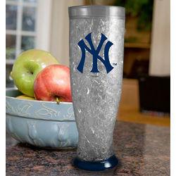 New York Yankees Freezer Pilsner Glass