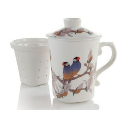 Java Sparrow Infuser Mug