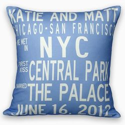 Custom Wedding Pillow