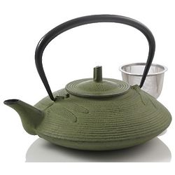 Small Dragonfly Cast Iron Teapot